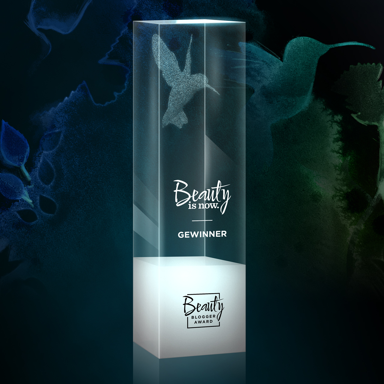 Beauty Blogger Award Pokal