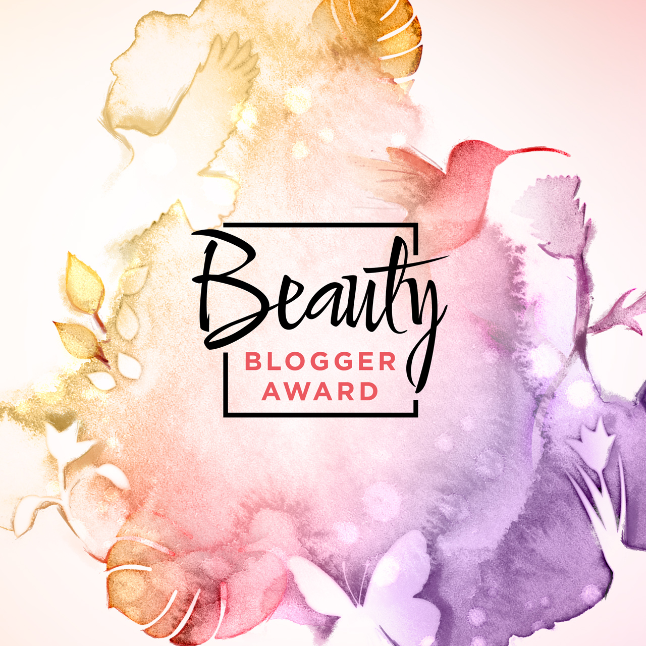 Beauty Blogger Award Logo und Visual